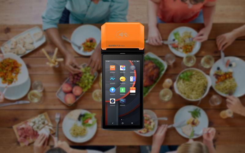 餐厅刷卡机